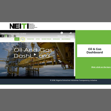 NEITI DASHBOARD